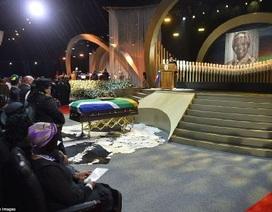 Thế giới tiễn biệt nhà lãnh đạo Nelson Mandela