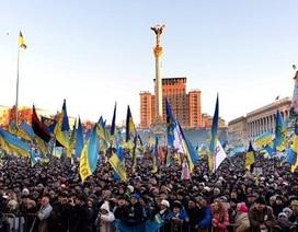 200.000 người biểu tình tại thủ đô Ukraine, EU hủy đàm phán