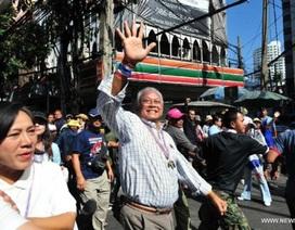Chính phủ Thái Lan hối thúc cảnh sát bắt lãnh đạo biểu tình