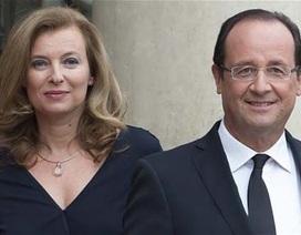 Đệ nhất phu nhân Pháp sẵn sàng tha thứ cho Tổng thống Hollande