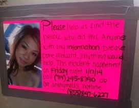 Mỹ treo thưởng 5.000 USD truy bắt kẻ sát hại cô gái gốc Việt
