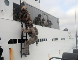 Đặc nhiệm SEAL Mỹ đột kích tàu chở dầu treo cờ Triều Tiên