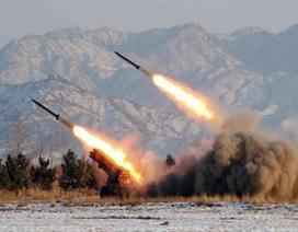 Triều Tiên lại bắn thêm 7 tên lửa tầm ngắn