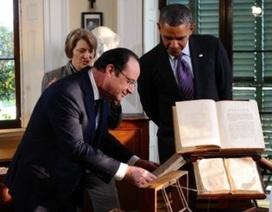 Tổng thống Pháp Hollande thăm cấp nhà nước tới Mỹ