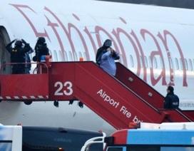 Nghi phạm cướp máy bay Ethiopia là phi công phụ