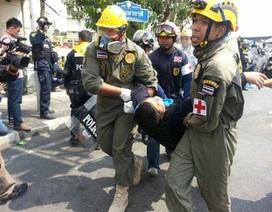 Một cảnh sát Thái Lan bị bắn chết vì xô xát với người biểu tình