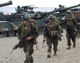 Mỹ triển khai gần 10.000 binh sĩ tới Hàn Quốc tập trận
