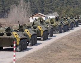 Ukraine triệu hồi đại sứ tại Nga, điều xe tăng tới gần biên giới