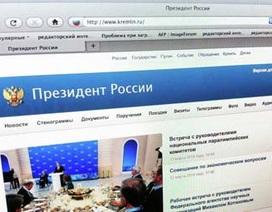 Trang web phủ Tổng thống Nga bị tin tặc tấn công
