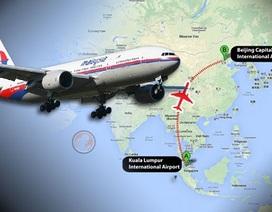 Máy bay mất tích của Malaysia bay rất thấp để né radar