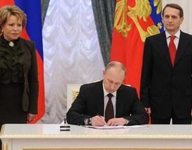 Tổng thống Putin ký sắc lệnh cuối cùng về sáp nhập Crimea