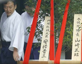 Thủ tướng Nhật gửi lễ vật tới đền chiến tranh, Trung - Hàn nổi giận