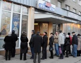Ukraine tăng mạnh lãi suất cứu đồng nội tệ