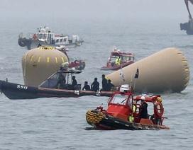 46 người đã tử vong, cần tới 2 tháng để trục vớt phà Sewol