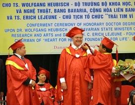 ĐH Đà Nẵng: Phong tặng Học vị Tiến sĩ danh dự đến 2 Tiến sĩ nước ngoài