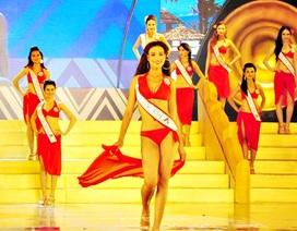 Ngắm Top 6 Hoa hậu các dân tộc Việt Nam trình diễn bikini