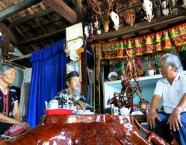Già làng Y Kông kể chuyện yêu, chuyện chết của người Cơ Tu
