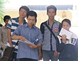 Đà Nẵng: Tỷ lệ thí sinh dự thi cao đẳng các trường đều trên 65%