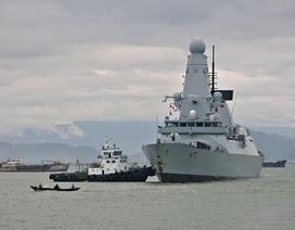 Tàu Hải quân Hoàng gia Anh thăm hữu nghị Đà Nẵng