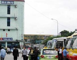 """""""Xóa sổ"""" bến xe Lương Yên, doanh nghiệp vận tải nháo nhác"""