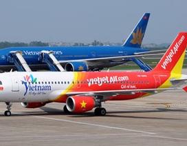 Mưa lớn tại Hà Nội, nhiều chuyến bay không thể cất - hạ cánh