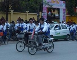 CSGT Hà Nội hóa trang bắt xe điện vi phạm giao thông