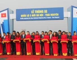 Thủ tướng phát lệnh thông xe cao tốc Hà Nội - Thái Nguyên