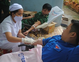 Hiến máu tình nguyện vì nạn nhân TNGT tại 3 thành phố lớn