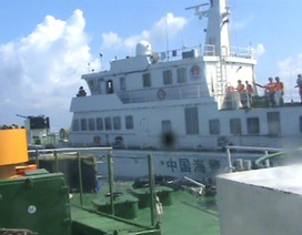 40 tàu ngư dân tiến sát vị trí Trung Quốc đặt giàn khoan trái phép