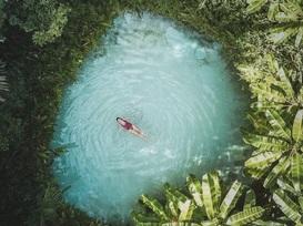 Thư giãn tâm trí với 20 bức ảnh màu xanh tuyệt đẹp