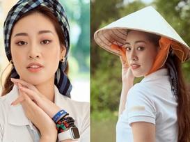 Hoa hậu Khánh Vân khoe mặt mộc xinh đẹp trải nghiệm cuộc sống miền Tây