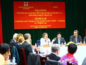 Bắc Âu sẵn sàng hỗ trợ Việt Nam thích ứng với kỷ nguyên số