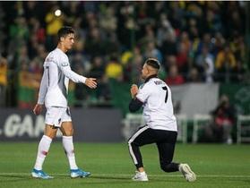 Cổ động viên bị phạt tiền vì xin chụp hình tự sướng cùng C.Ronaldo