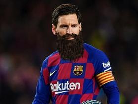 Ảnh hài hước C.Ronaldo, Messi hoá râu ria xồm xoàm vì cách ly