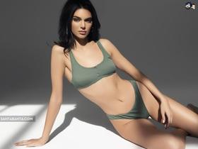 Kendall Jenner lạ mắt trong bộ ảnh mới