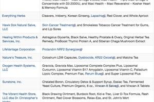 """FDA vạch chiêu trò quảng cáo thực phẩm chức năng """"chữa ung thư"""" - 3"""