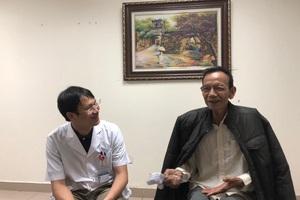 Ông Nguyễn Khắc Toản chia sẻ một ngày của ông vẫn lao động như thời chưa mắc bệnh, vẫn đạp xe 4 - 5kg, vẫn đi chữa bệnh cho vật nuôi bị ốm.
