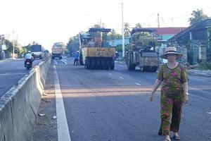 Trạm BOT Bắc Bình Định thu phí trở lại từ 21h tối  nay