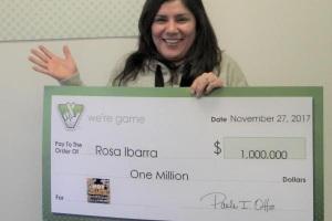  Rose Ibarra nhận giải thưởng trị giá 1 triệu USD (22,7 tỷ đồng)