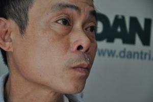 Anh Thà phát hiện ung thư phế quản nhưng không có tiền để nhập viện điều trị.
