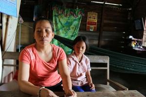 Chồng chết, chị lại đau đớn rơi vào cảnh cùng cực vì con gái mắc bệnh hiểm nghèo