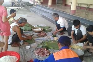 Phong tục này đã có tại thôn Thanh Hòa hơn 10 năm nay.