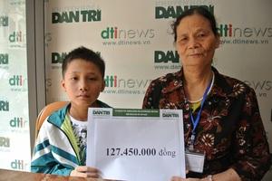 Bạn đọc Dân trí giúp cậu bé bị ung thư vòm họng hơn 127 triệu đồng - 3