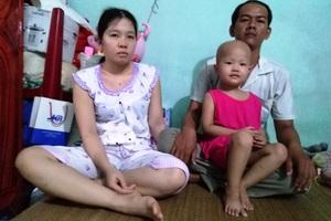 Xót xa bé gái 3 tuổi đã phải chống chọi bệnh ung thư máu - 3