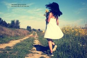 Hoa colza: Modele: Lan Tử Viên, Photographe: Thị Lanh