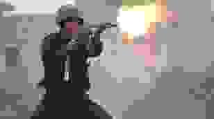 Cảnh sát đặc nhiệm bắn súng, nổ mìn diễn tập chống khủng bố