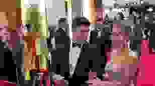 Scarlett Johansson dự sự kiện cùng chồng