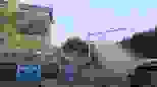 Cận cảnh đoạn tường cổ từ thời nhà Minh bị đổ sập
