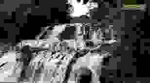 Vẻ đẹp hoang sơ của thác Kon Bông giữa rừng xanh