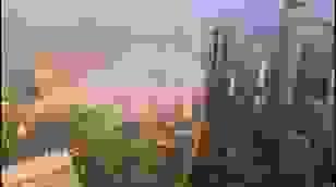 Video ghi lại hình ảnh cầu vồng đầy đủ khi quan sát từ tòa nhà cao tầng